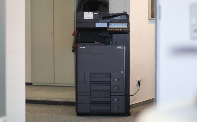 neuer Drucker der Firma Münstermann