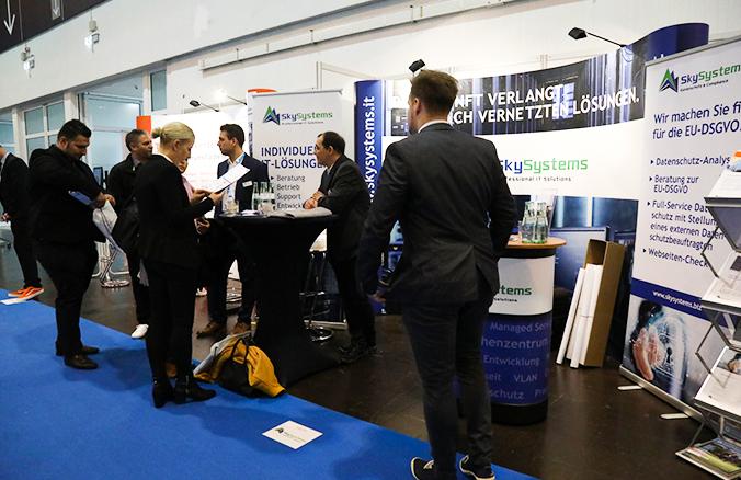 Digital Future Congress Essen - Messestand