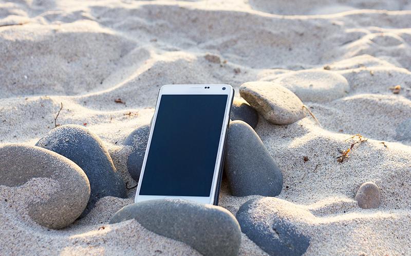 Hitzeschutz Smartphone