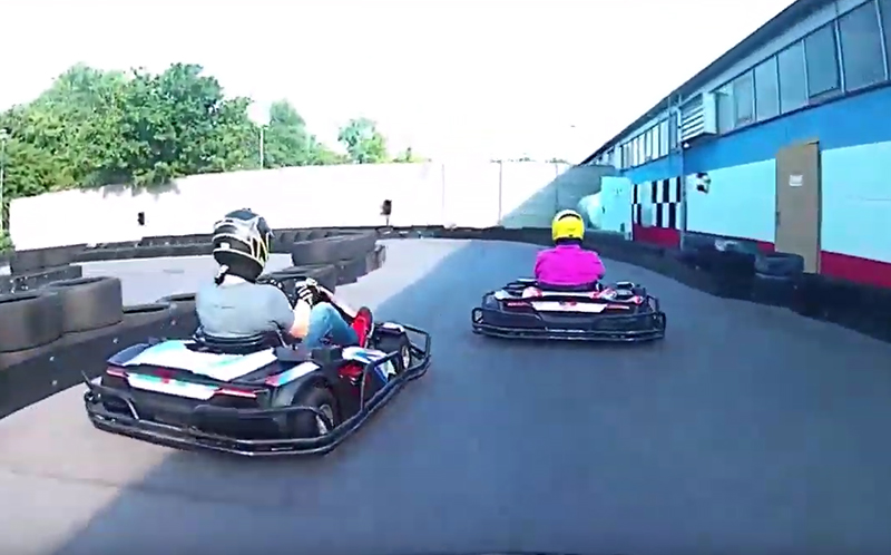Manager Race 2019 Kartbahn